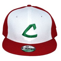 New Era KID950 CLEVELAND INDIANS WHITE 11473854 YOUTH