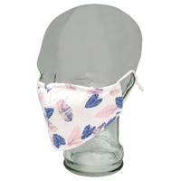 Kato Face Mask Azure & Rose Leaf