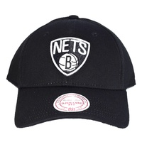 Mitchell & Ness NAR241 BROOKLYN NETS BLACK
