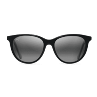 Maui Jim Cathedrals GS782-02 Gloss Black / Neutral Grey