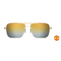 Maui Jim Compass DGS714-37UTD Manchester United Gold / Dual Mirror Gold to Silver over HCL Bronze