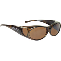Fitovers Aurora AR008A Brown Marble / Amber Polarised Lenses