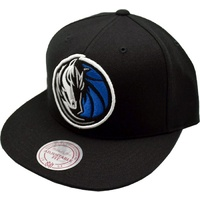 M&N 18684 DMABLCK Dallas Mavericks Black Snapback OS
