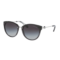 Michael Kors MK6040 321111-55 Black and Horn / Light Grey Gradient