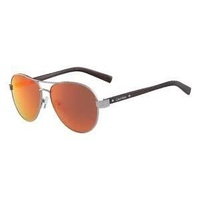 Calvin Klein R363S-072 Shiny Light Gunmetal / Smoke