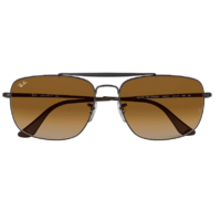 Ray-Ban The Colonel RB3560 004/51-61 Gunmetal / Light Brown Gradient