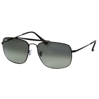 RayBan RB3560002/5861 COLONEL BLACK CRYSTAL GREEN POLARIZED