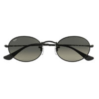 Ray-Ban RB3547N 002/71-54 Oval Black / Grey Gradient