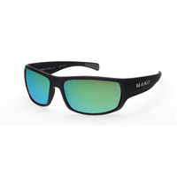 Mako Escape 9581 M01 G2H5 62/16 Matte Black / Rose Green Mirror