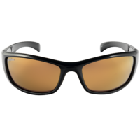 Spotters Artic+ Gloss Black / Gold Leaf Mirror Polarised Lenses