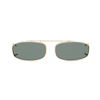 Stalkers Clip On Size 1 Light Gold Frame / G15 Lens