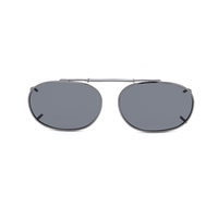 Stalkers Clip On Size 6  Dark Gunmetal frame/Smoke Lens