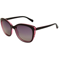Stiletto Madelyn C2 Crystal Pink Black / Smoke Gradient Polarised Lenses