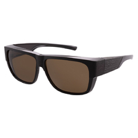 Cover Glasses Polar 8091 Brown / Brown Polarised Lenses