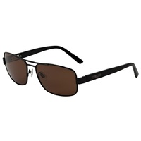 Bill Bass Ayden 25540 Satin Black / Brown Polarised Lenses
