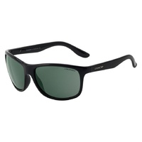 Dirty Dog Quench 53505 Shiny Black / Green Polarised Lenses