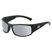 Dirty Dog Muzzle 53519 Satin Black / Silver Mirror Polarised Lenses