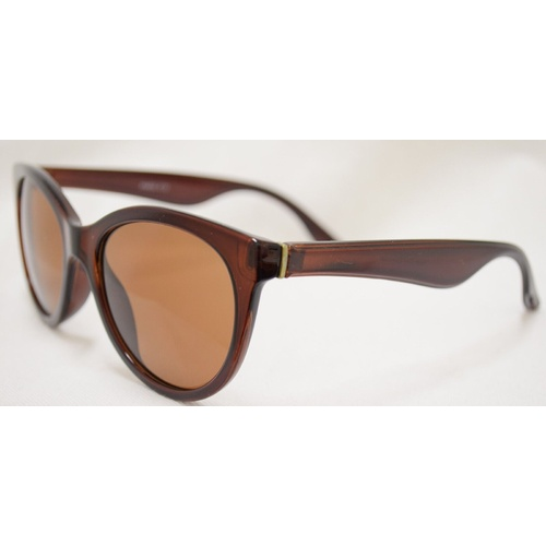 New Girl Paris C12 Crystal Brown Frame With Brown Lens