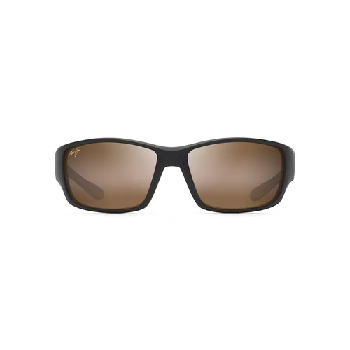Maui Jim Local Kine H810-25MC Matte Dark Transparent Brown Tan Cream / HCL Bronze