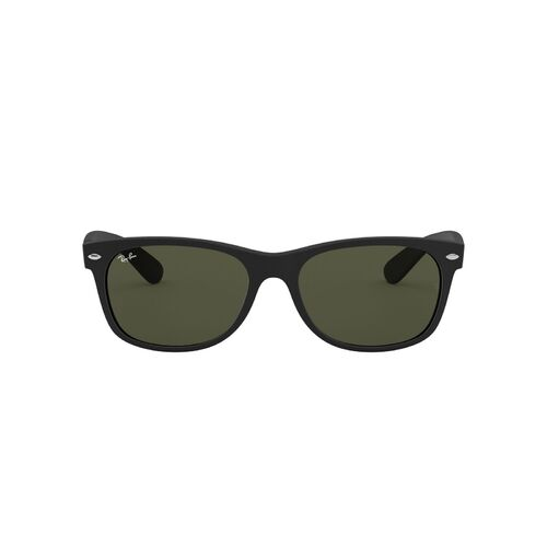 Ray-Ban RB2132 622-55 New Wayfarer Matte Black / Green Classic G-15