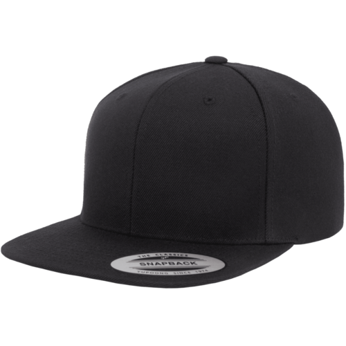 Flexfit The Classic Snap Back Cap 162101 Black OSFA